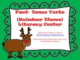 Past Tense Verbs- Reindeer Theme- Literacy Center