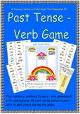 Past Tense Verbs Game