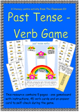 Past Tense Verbs Game