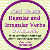 Past Tense Worksheets with Regular and Irregular Verbs