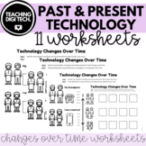 Past and Present Digital Technology Changes Worksheets ACT