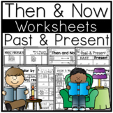 Social Studies   Past and Present   Now and Then   No Prep Worksheets