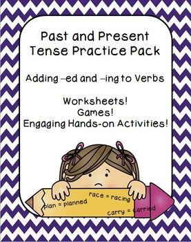Past and Present Tense - Adding Suffixes -ed and -ing