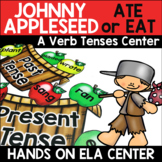 Past and Present Tense Verbs Center