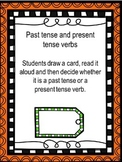 Past and Present Verb Sorting