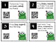 Past and Present Verbs Task Cards with QR Codes
