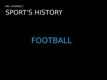Past or Present Sports History