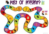 Past or Present Tense Board Game