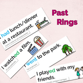 Past rings - Teaching children to speak about the past!