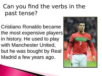 Past tense irregular verbs