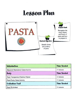 Pasta Lesson