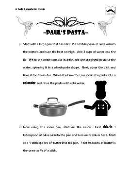Pasta Procedural Reading