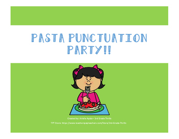 Pasta Punctuation Party!