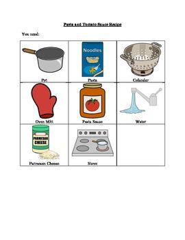 Pasta and Tomato Sauce Recipe