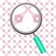 Pastal Pink Ribbon Digital Paper / Backgrounds Clip Art Set Commercial Use