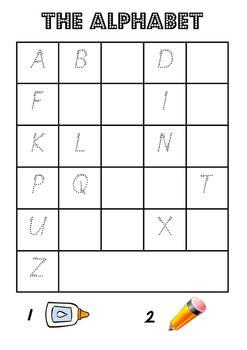 Paste the Alphabet