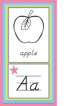 Pastel Alphabet