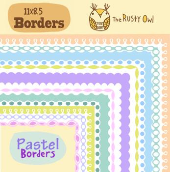 Pastel Borders