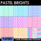 Pastel Brights Digital Paper