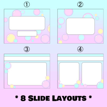 Pastel bubbles powerpoint template by aubrey ellen tpt pastel bubbles powerpoint template toneelgroepblik Image collections