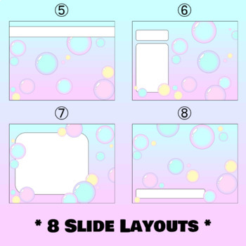 Pastel Bubbles Powerpoint Template