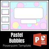 Pastel Bubbles Powerpoint Template