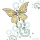 Pastel Butterfly ClipArt