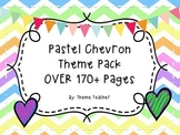 Pastel Chevron Classroom Theme Pack OVER 170 PAGES