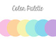 Pastel Classroom Decor, Inspirational Art Quotes for Students