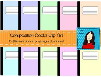 Pastel Composition Notebooks