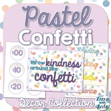 Pastel Confetti Decor Collection