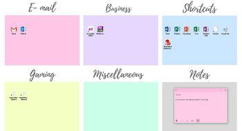 Pastel Desktop Organiser