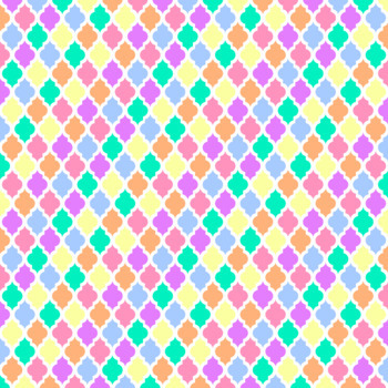 12x12 Digital Paper - Rainbow Collection: Pastels (600dpi)