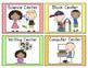 Pastel Dots Pocket Chart Center Cards