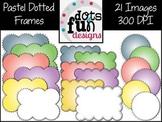 Pastel Dotted Frames