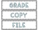 Pastel Drawer Labels