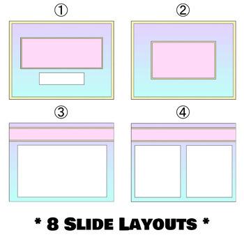 Pastel Gradient Powerpoint Template