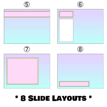 Pastel gradient powerpoint template by aubrey ellen tpt pastel gradient powerpoint template toneelgroepblik Images