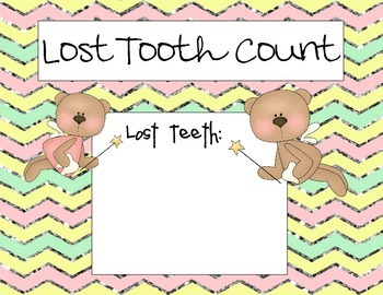 Pastel Lost Tooth Count