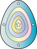 Pastel Magic Easter Egg