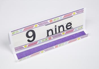 Pastel Number GrandStand: 9