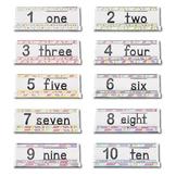 Pastel Number GrandStand Packet 1-10