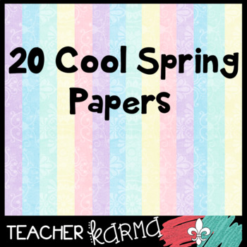 Pastel Papers - Perfect for Spring