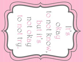 Pastel Pattern Classroom Posters