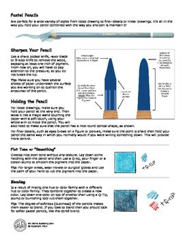 Pastel Pencil Techniques