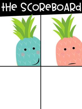 Pastel Pineapple Classroom Decor & Organization