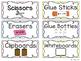 Pastel Polka Dot Classroom Decorations {Editable}