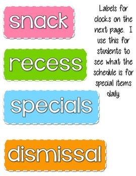 Pastel Rainbow Chevron Classroom Theme Pack