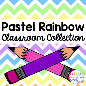 Pastel Rainbow Classroom Collection