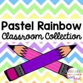 Pastel Rainbow Classroom Collection
